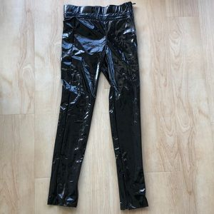 Zara pleather pants